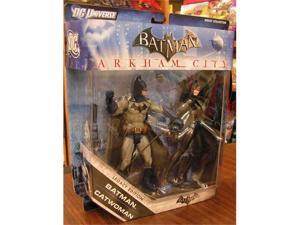 Batman Arkham City: Batman  and  Catwoman