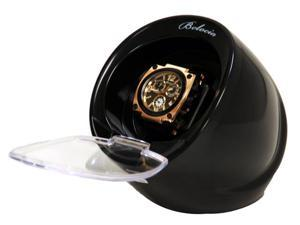 Single Black Automatic Watch Winder With Built in IC Timer