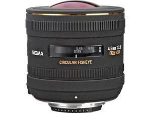Sigma 4.5mm f/2.8 EX DC HSM Lens for Nikon Digital SLR