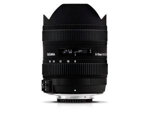 Sigma 8-16mm F4.5-5.6 DC HSM Ultra-Wide Zoom Lens Canon