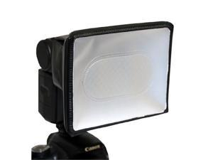 Opteka SB-300 Universal Small Studio Soft Box Flash Diffuser for External Flash Units