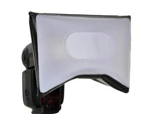 Opteka SB-15 AF-Compatible Universal Softbox Diffuser for Camera Flashes