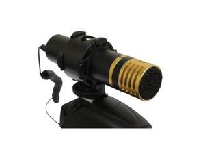 Opteka VM-2000 Metal Stereo Video Shotgun Microphone with Shock Mount for Digital SLR Cameras & Camcorders