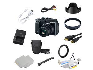 Canon PowerShot G1 X (G1X) 14.3 MP CMOS Digital Camera with Ultimate 16 Piece Bundle