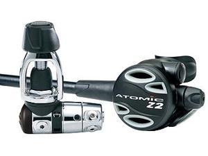 Atomic Z2 Scuba Regulator, Yoke
