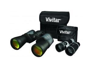 Vivitar Value Series 8x50 Binoculars w/Bonus 4x30 Compact Binocular VIV-VS-843