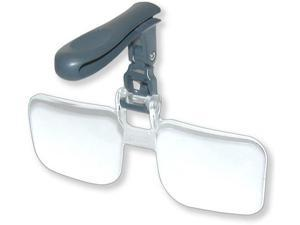 Carson VisorMag 2.25x Power (+5.00 Diopters) Clip-On Magnifying Lens for Hats VM