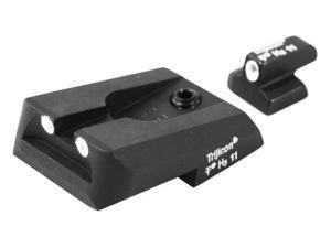 Trijicon Night Sight Set, Green Front & Rear - Novak Compact 9mm