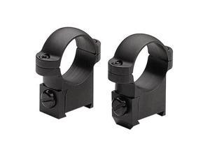 Burris CZ 527 SA 1Inch Medium Gloss Black Solid Steel Ring Mounts