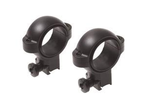 Burris Signature Airgun/Rimfire .22 1 Inch Riflescope High Ring Pair - Matte Bla