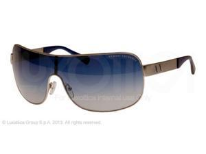 Armani Exchange AX2008 Sunglasses 60204L-37 - Satin Silver Frame, Blue Gradient