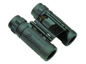 Alpen Sport 8x21 Green Roof Prism Rubber Armored Compact Binoculars