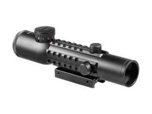 Barska 4x28 IR Electro Sight Green Laser Tactical Combo