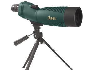 Alpen 18-36x60mm Straight Spotting Scope, Green