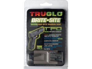Truglo TFO Tritium Fiber Optic Britesite Green Gun Sights Glock Low TG131GT1