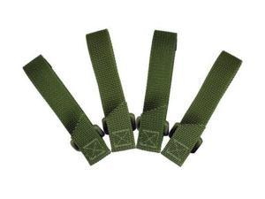 Maxpedition 3-inch Tactie - OD Green, Pack of 4 -