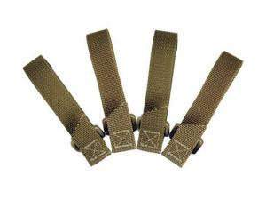 Maxpedition 3-inch Tactie (Pack Of 4) - Khaki 9903K