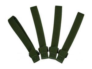 Maxpedition 5inch TacTie (Pack of 4) - OD Green 9905G