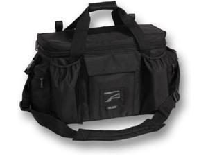 Bulldog Extra Large Deluxe Black Police & Shooters Range Bag With Strap, Black B