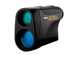 Nikon Monarch Laser 1200 Rubber-Armored Black Waterproof Rangefinder, Black