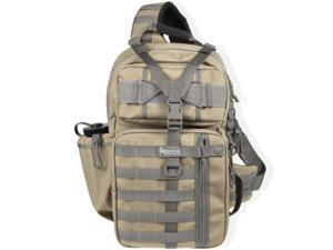 Maxpedition Kodiak Gearslinger Backpack w/ PALS, Shoulder Strap - Khaki Foliage