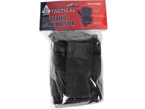 Leapers UTG Concealed Ankle Holster, Black - Fits Most Compact & Subcompact Pist