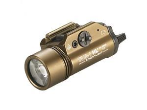 Streamlight Tlr-1 Hl With Lithium Batteries, Flat Dark Earth Brown -