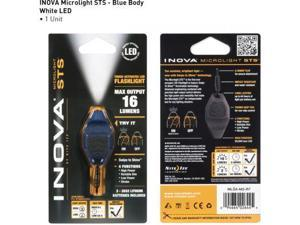 Inova Microlight Swipe To Shine Key Light - Blue/Black