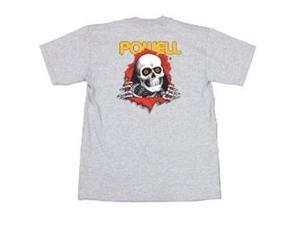 Powell Classic T-Shirts RIPPER - Athletic Gray