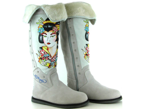 Ed Hardy Women's 'Snowblazer' Swarovski Accented Tall Boot