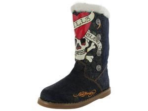 Ed Hardy Women's 'Boot Straps' Tattoo-Inspired Boot