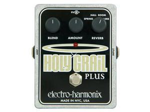 Electro Harmonix Holy Grail Plus Reverb Guitar Effect Pedal EHX NEW