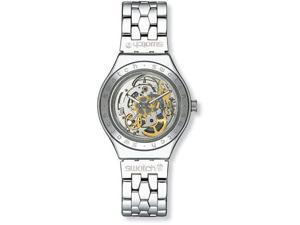Swatch Men's Irony Automatic See Through Skeleton Dial Stainless Steel