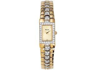 Bulova Ladies Crystal Women's Watch - 98T89