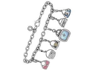 Citizen Eco-Drive Silhouette Charm Bracelet Women's Watch - EG2310-61N