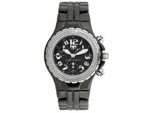 TechnoMarine Diamond Chrono Ceramique Unisex Watch - DTCB02C