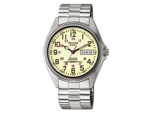 Pulsar Railroad Approved Men's Watch - PXN021