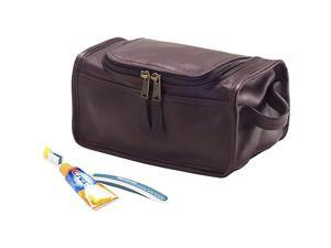 Clava Vachetta Leather Shaving/Cosmetic Case