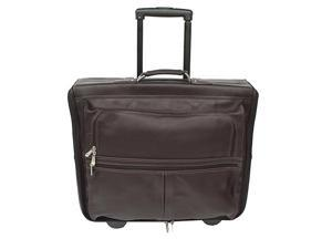 Piel Garment Bag on Wheels