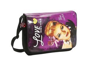 """Mobile Edge Maddie Powers Laptop Messenger - Purple for 15.4"""" PC / 17"""" MacBook Pro (MP-CMB02)"""