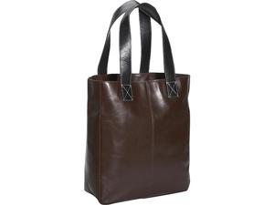Leatherbay Leather Shopping Tote