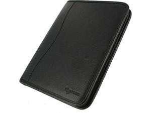 rooCASE Executive Portfolio Leather Case for iPad Generations 2, 3 & 4