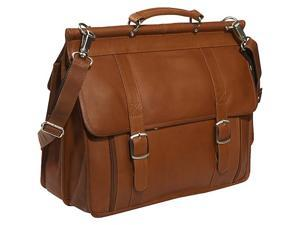 Piel European Laptop Briefcase