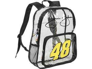 Nascar Jimmie Johnson Clear Backpack