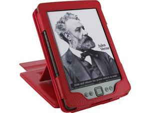 rooCASE Multi-View Leather Case for Amazon Kindle 4