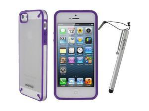 rooCASE Fuse Shell Case w/ Stylus for Apple iPhone 5