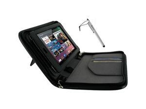 rooCASE 2n1 Executive Leather Case w/ Stylus for Google Nexus 7