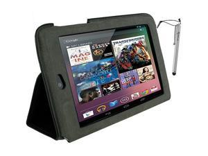 rooCASE Ultra-Slim Vegan Leather Case & Stylus for Google Nexus 7 Tablet