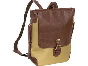 AmeriLeather Two-tone Backpack