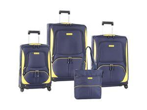 Nautica Downhaul 4 Pc Luggage Set